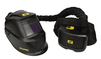 ESAB Savage A40 for air welding Head Shield with ESAB PAPR Respirator - complete outfit